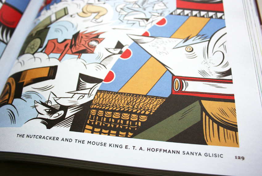 the nutcracker and mouse king illustrations by sanya glisic